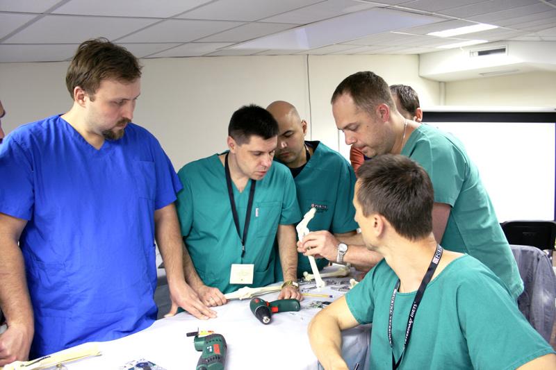 Российско-швейцарский мастер-класс по травматологии и ортопедии