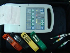Аппарат для снятия ЭКГ у животных