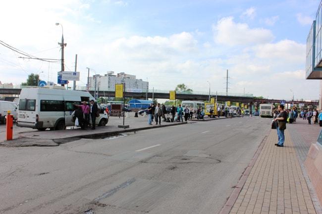 остановок маршрутных такси